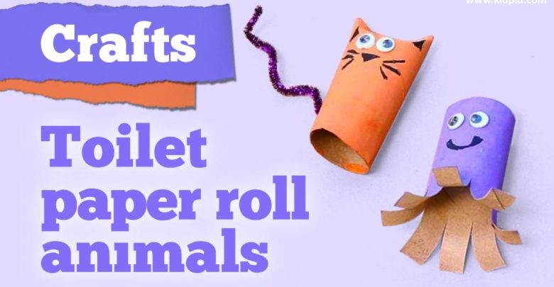 Loving Animal Paper Roll Craft Ideas To Keep Kids Busy Kidpid