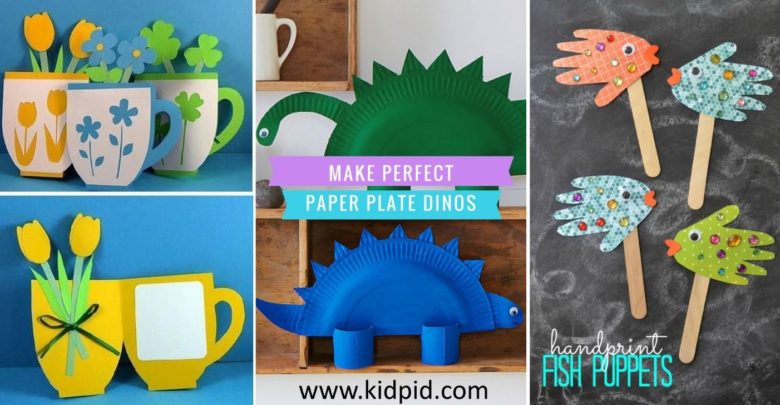 Simple Diy Paper Craft Tutorials For Kids To Nurture Their