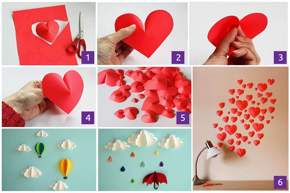 3 Wall Decoration With Paper Craft